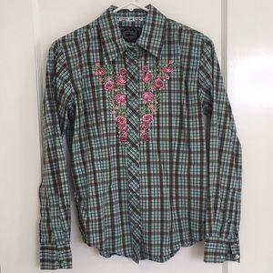 Cowgirl Hardware Button Down Western Shirt